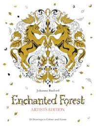 Enchanted Forest Artists Edition By Johanna Basford