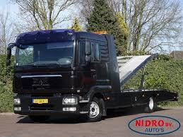 Autovežių Sunkvežimių MAN TGL TIJHOF AUTOTRANSPORT / SLEEP CAB ...