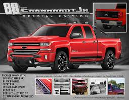 100 Duel Truck Driver Introducing The Dale Jr No 88 Special Edition Chevy Silverado