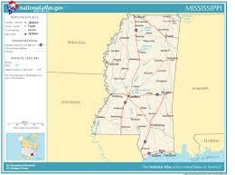 Arizona State Map With Cities United States Geography For Kids Mississippi