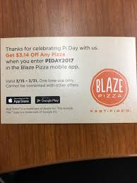 Missed The Blaze Pizza Pi Day $3.14 Pizza Special? You Didn ... Super Bowl Savings Deals On Pizza Wings Subs And More National Pizza Day 10 Deals For Phoenix Find 9 Blaze Coupon Codes September 2019 Promo Pi Where To Get Free Pie Today Kfc Newest Promotions Discount Coupons Sgdtips Check Out All The Happening Tomorrow Nationalpizzaday Saturday 100 Off Blaze Tv 8 Verified Offers Heres To Cheap Or Food Fastfired Disney Springs Pizzas Pies All The Best This