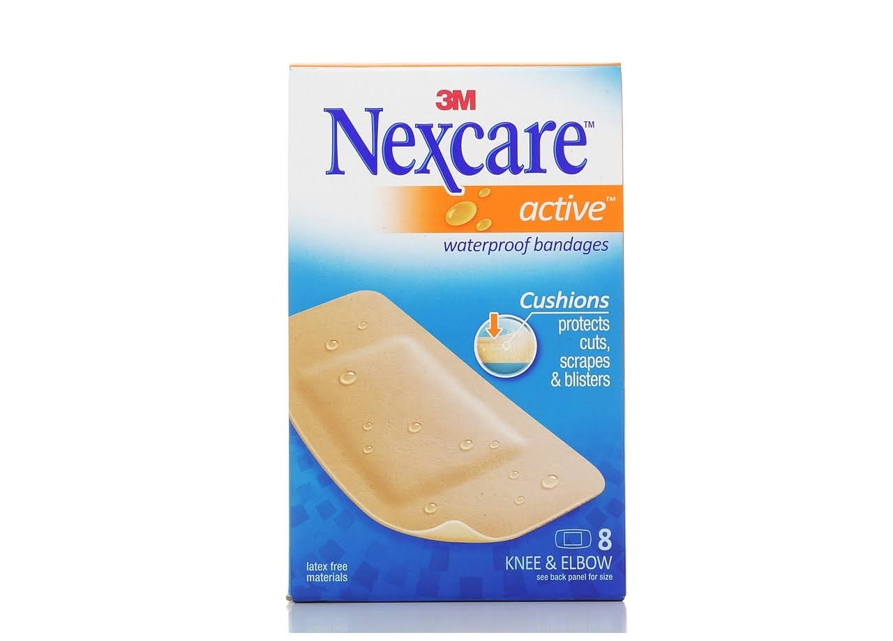 Nexcare Active Bandages Extra Cushion for Knee & Elbow