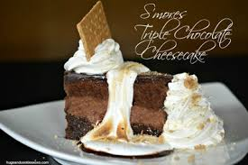 Homemade Cheesecake Factory S mores Triple Chocolate Cheesecake