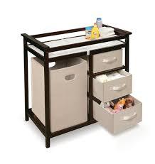 Baby Changer Dresser Combo by Interior Wicker Changing Table Gray Changing Table Dresser