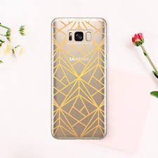 Striped Note 9 Case For Samsung S9 Case Gold Net Galaxy S8 Etsy