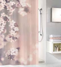 kleine wolke duschvorhang blossom breite 120 cm 1 tlg höhe 200 cm