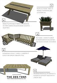 Top 10 Most Popular DIY Outdoor Furniture Plans The Design