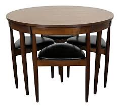 100 Shaker Round Oak Table And Chairs Vintage Used Dining Chair Sets For Sale Chairish