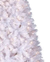 5ft Pre Lit White Christmas Tree by Winter White Artificial Christmas Tree Treetopia