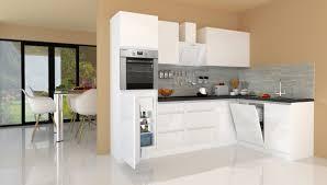 winkelküche küchenzeile küche l form küche grifflos weiß 280 x 172 cm respekta