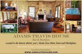 Fredericksburg Texas line Adams Travis House Bed & Breakfast