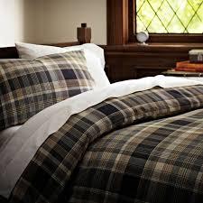 Cascade Plaid Duvet Cover Pillowcases