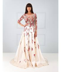 mari white maxi dress with red floral embroidery forever unique