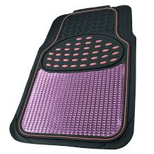 BDK Metallic Rubber Floor Mats For Car SUV & Truck - Ultra Heavy ...