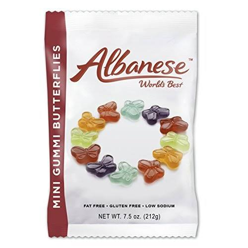 Albanese Mini Gummi Butterflies - 7.5oz