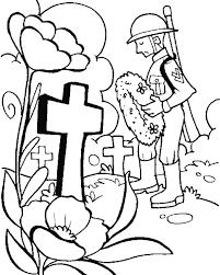 Kindergarten Memorial Day Coloring Pages