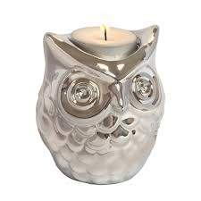 Owl Candle Holder 1574