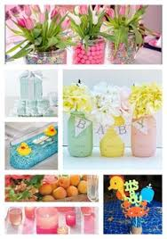 inexpensive baby shower centerpiece and decor ideas all items can