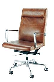 Brown Leather fice Chair Canada Desk Tufted Leather Desk Chair