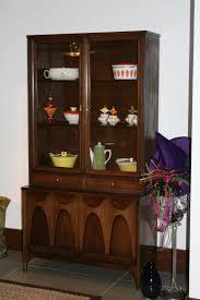 Broyhill Brasilia Dresser Craigslist by My Broyhill Brasilia Hutch With Retro Dishes And Pixieware My