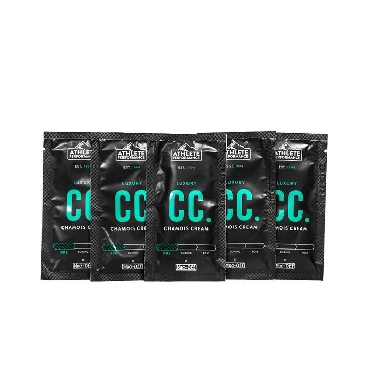 Muc-Off Chamois Cream 10ml Sachets (5 Pack)