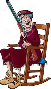 A Cartoon Grandmother In A Rocking Chair And Holding A Shotgun Old Man Rocking In A Chair Stock Illustration Black Woman Relaxing Amazoncom Rxyrocking Chair Cartoon Trojan Child Clipart Transparent Background With Sign Rocking In Cartoon Living Room Vector Wooden Table Ftestickers Rockingchair Plant Granny A Cartoons House Oriu007 Of Stock Vector Bamboo Png Download 27432937 Free