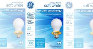 ge light bulbs just 0 75 per bulb at rite aid 10 8 no coupons