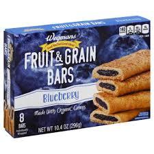 Fruit Grain Bars Blueberry