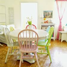 Colorful Dining Room Chairs Awesome Every Color Goes To Her Homes That Aren With Regard 10