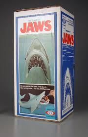 The Game Of Jaws Is A 1975 Board By Ideal Based On Blockbuster Film Same Name