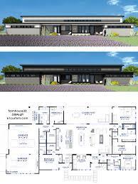 100 Modern House 3 Farmhousemodern House Plan