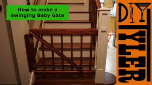 Swinging Actuating Baby Gate 022 - YouTube Baby Gate With A Rustic Flair Weeds Barn Door Babydog Simplykierstecom Diy Pet Itructions Wooden Gates Sliding Doors Ideas Asusparapc The Sunset Lane Barn Door Baby Gate Reclaimed Woodbarn Rockin The Dots How To Make 25 Diy 1000 About Ba Stairs On Pinterest Stair Image Result For House