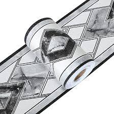 yoillione tapete bordüre selbstklebend bordüren weiß