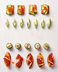 easiest canapes our best no cook appetizers for easy entertaining martha stewart