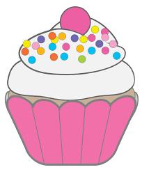 Birthday cupcake clipart 1704