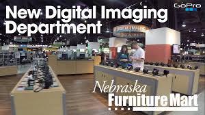 New Digital Imaging Department at Nebraska Furniture Mart at our