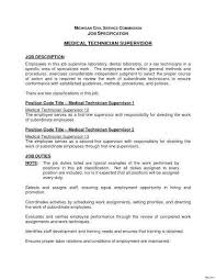 Radiology Radiologic Technologist Resume Sample For Medical Laboratory Best