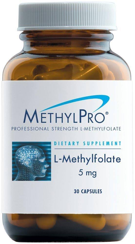MethylPro L-Methylfolate Supplement - 5mg, 30ct