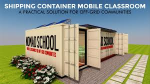 100 Container Projects Shipping Classrooms Design For Mobile Schools NOMADBOX 320