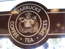 The Original Starbucks Logo At Seattles Pike Place Market 9 18 2009