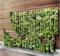 100 Bamboo Walls Ideas Jan 24th Just Bamboo Sticks Arranged And Planted In 2019