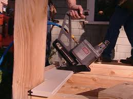Wood Floor Nailer Gun by How To Install Porch Flooring How Tos Diy