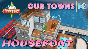 100 House Boat Designs Sims FreePlay Family Boat Original Design YouTube