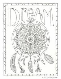 Dream Coloring Page PDF Instant Download By Jackieindesign