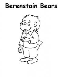 Berenstain Bears Christmas Tree 1979 by Berenstain Bears Papa Coloring Pages Contegri Com