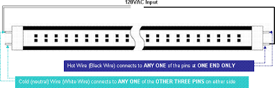 t8 led bulb replacement wiring specs from www lc led