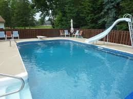 Rectangle Inground Swimming Pool Liner Replacement
