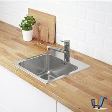 bad küche ikea langudden spülbecken spüle einbauspüle