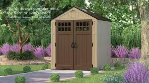 Suncast Tremont Shed 8 X 13 by Features Of Suncast U0027s Everett Shed Range Youtube