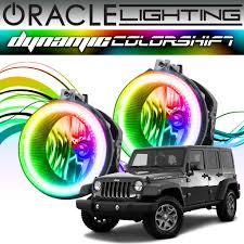 2007-2017 Jeep Wrangler ORACLE Dynamic ColorSHIFT Fog Light Halo Kit ... Kc Hilites Gravity Led G4 Toyota Fog Light Pair Pack System Amazoncom Driver And Passenger Lights Lamps Replacement For Flood Beam Suv Utv Atv Auto Truck 4wd 5 Inch 72 Watts Trucklite 80514 7x375 Rectangular 19992018 F150 Diode Dynamics Fgled34h10 2inch Square Cree Kit 052018 Nissan Frontier Chevy Silverado 9902 Tahoe Suburban 0005 0405 Ford Ranger Pickup Set Of Everydayautopartscom 2x 12 24v 9 Inch Spot Lamp Park Bulb Trailer Van Car 72018 Raptor Baja Designs Unlimited Bucket Offroad Jeep Halogen Hilites Daytime Running Fog Lights Cherokee Kj 2001 To